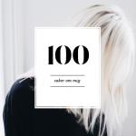 100 SAKER OM MIG