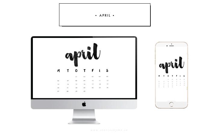 Kalender april