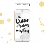 FOR YOU | THE QUEEN OF FUCKING EVERYTHING